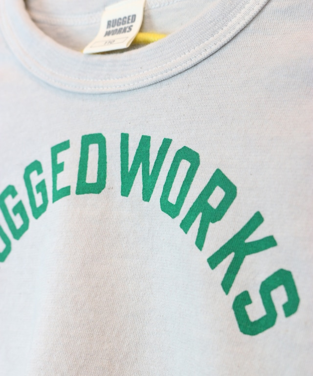 RUGGED ロゴプリント半袖TEE(日本製)