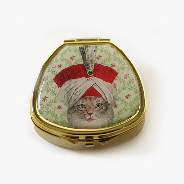 Andrea Garland (アンドレアガーランド) アロマリップ&ネイルバーム ピルボックス 【NAPOLEONIC CAT】