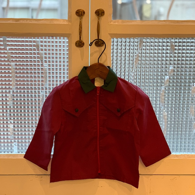 【KIDS】70's light jacket - school blouse - French - Size 2 years