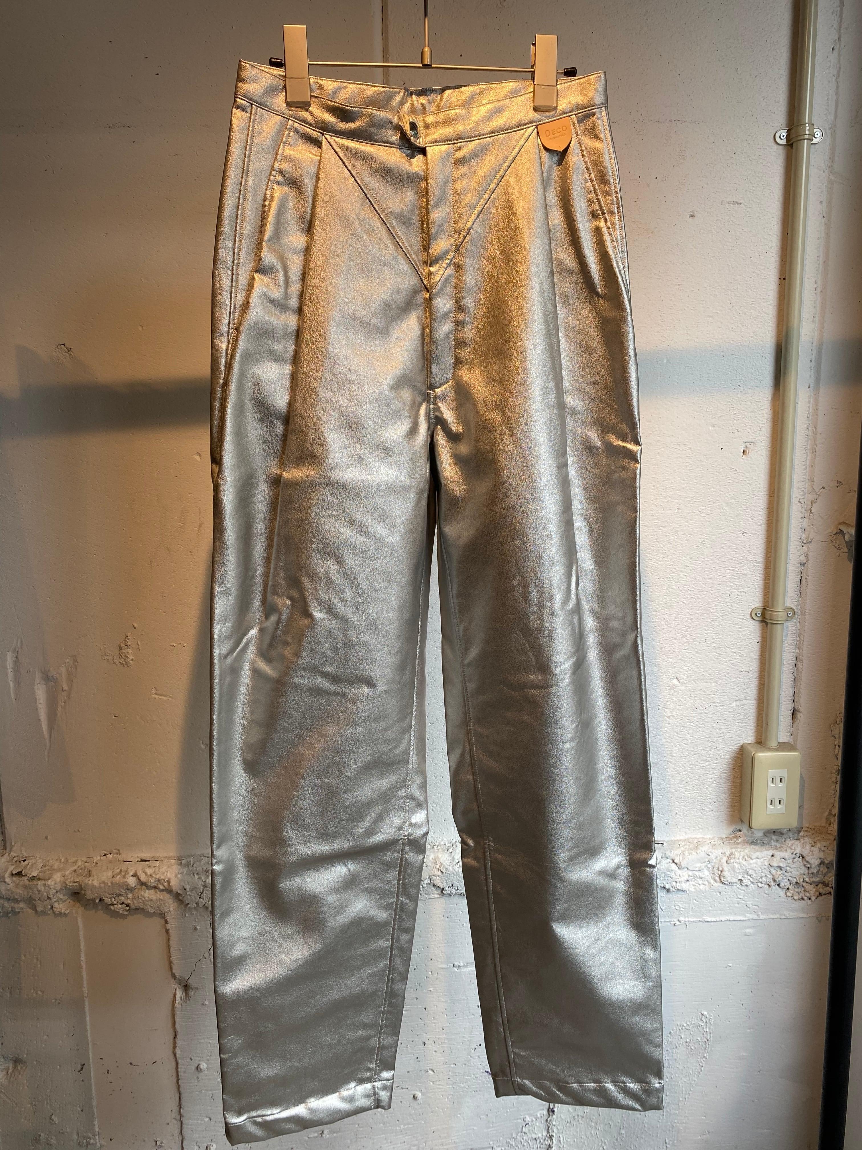 DECOdepuis1985 fake leather pants