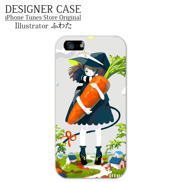 iPhone6 Soft case[Carrot] Illustrator:Fuwata
