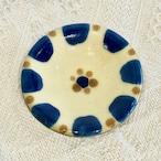『ノモ陶器製作所』小皿 コバルト チチチャン