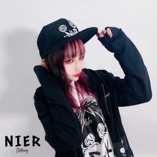 NieR CORDUROY CAP【FACE LOGO】