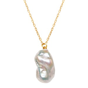 〈Sクラス〉Baroque pearl necklac|ネックレス( L size/Gold)