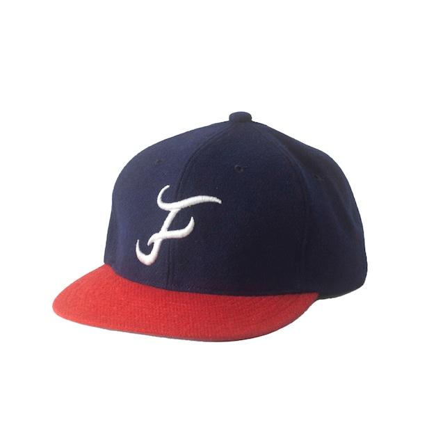 FRAVES BASEBALL CAP / NAVY RED - メイン画像