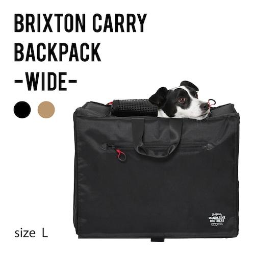 BRIXTON CARRY BACKPACK −WIDE−(L)ブリクストンキャリーバックパック ワイド Lサイズ