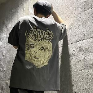 【WillxWill × Musollon】スペシャルコラボレーション Vulture T-shirts Sumi