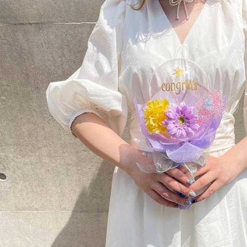 BALLOON FLOWER BOUQUET MINI - rapunzel - ラプンツェルモデル