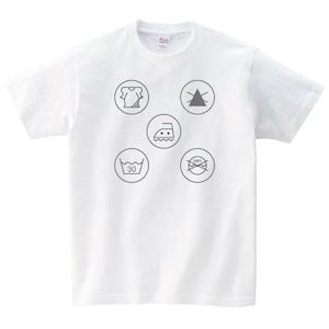 デザイン Tシャツ メンズ レディース 半袖 シンプル ゆったり おしゃ れ トップス 白 30代 40代 ペア ルック プレゼント 大きいサイズ 綿100% 160 S M L XL