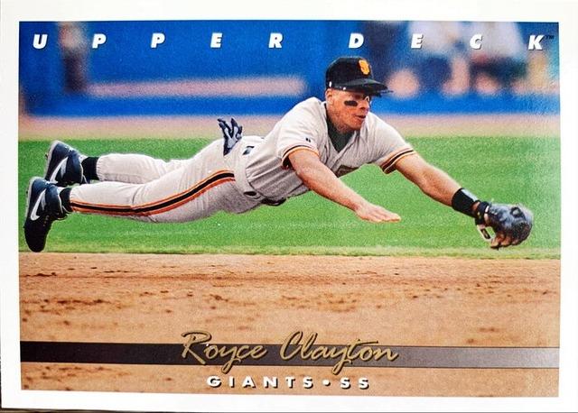 MLBカード 93UPPERDECK Royce Clayton #151 GIANTS