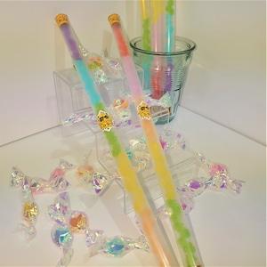 恋寿華堂レインボーこんぺいとうステッキ (Konpeito's Rainbow color stick)
