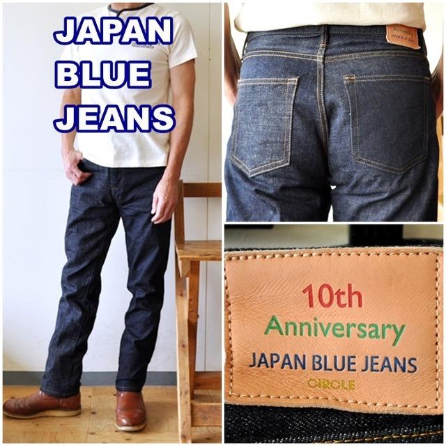 "JAPANBLUEJEANS ジャパンブルージーンズ 10周年記念 CIRCLE""Crazy"" ストレートジーンズ J10TH3"