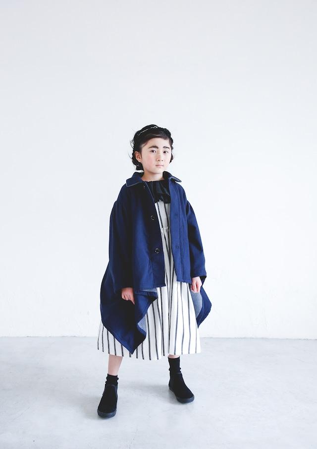 【21AW】ミチリコ(michirico) sway coat navy【L・XL】コート