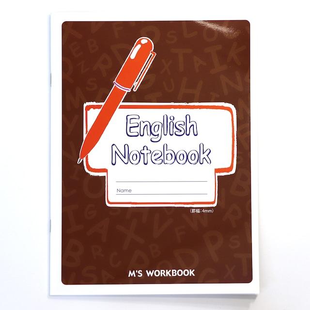【English Notebook(4mm)】