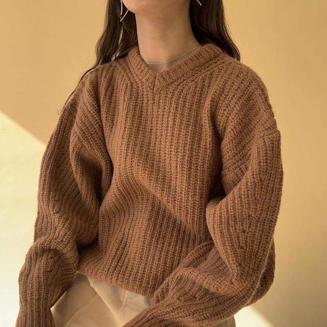 back button slit knit
