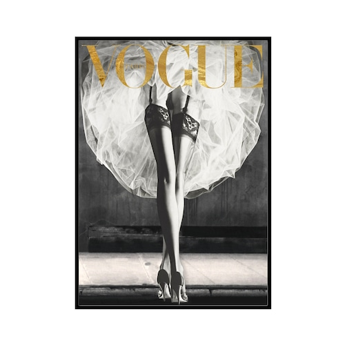 """VOGUE GM"" BW Ballet - VOGUEシリーズ [SD-000579] A4サイズ ポスター単品"