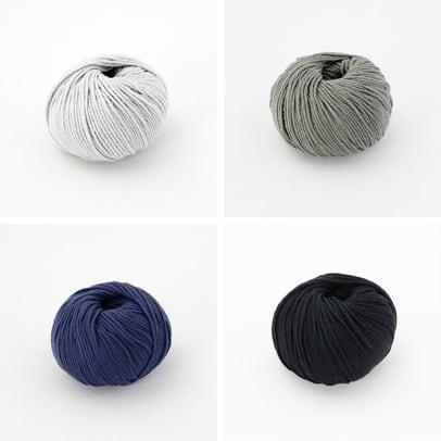 【編み物キット】綿糸のこま編みバック(糸:No.13)