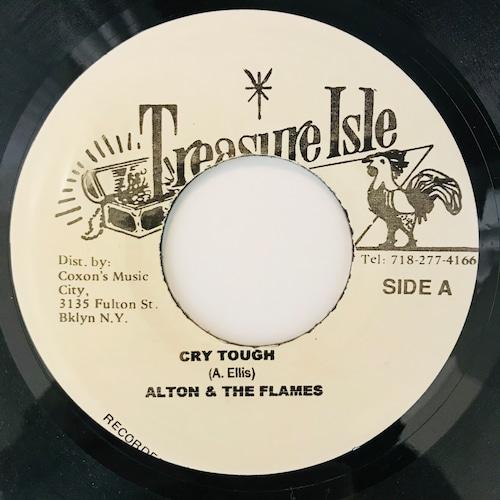 Alton & The Flames - Cry Tough【7-11040】