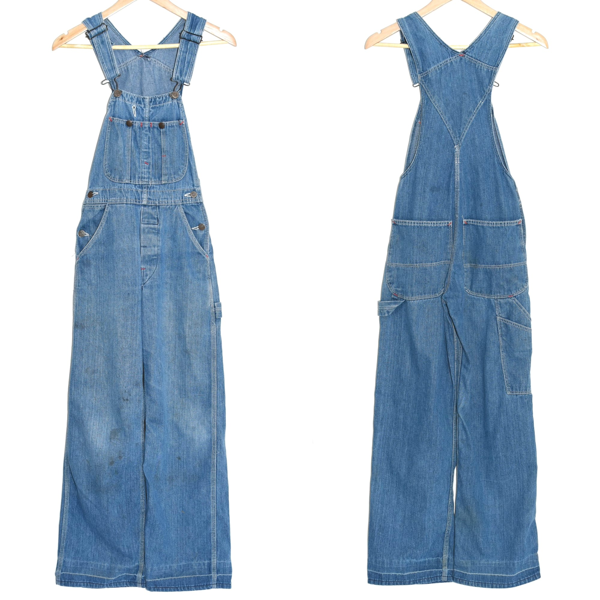 00's Dickies denim overalls Made in MEXICO