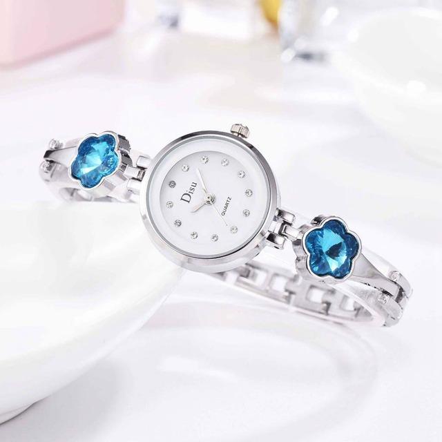 DISU LT-D3067(silver-blue) レディース腕時計