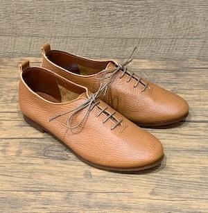 Recipeの革靴 キャメル