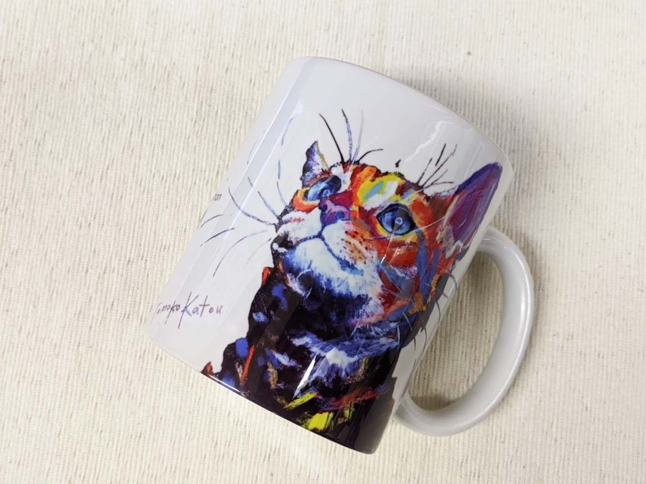 猫庭マグ +TOMOKO KATOU model ■ Espoir エスポア