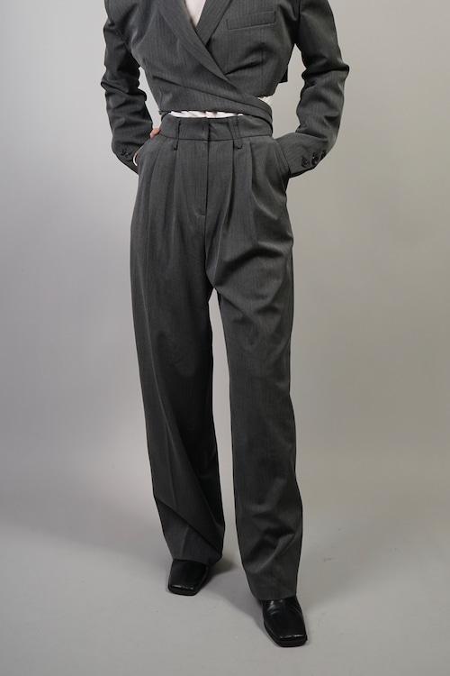 TUCK PANTS (GRAY) 2109-94-61