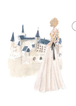 A5クリアファイル《ヤンシュヴァイン城とドレス》