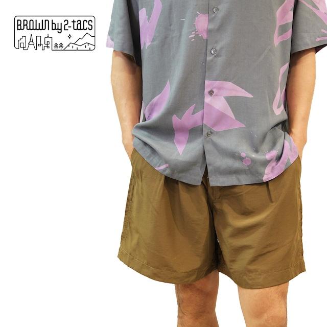 "BROWN by 2-tacs  B25-P007 ""Tac shorts"""