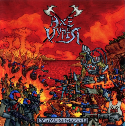 """AXE VYPER """"Metal Crossfire""""  (輸入盤)"""