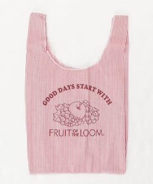 14730900【FRUIT OF THE LOOM/フルーツオブザルーム】 FTL stripe shopper tote/ストライプショッパー