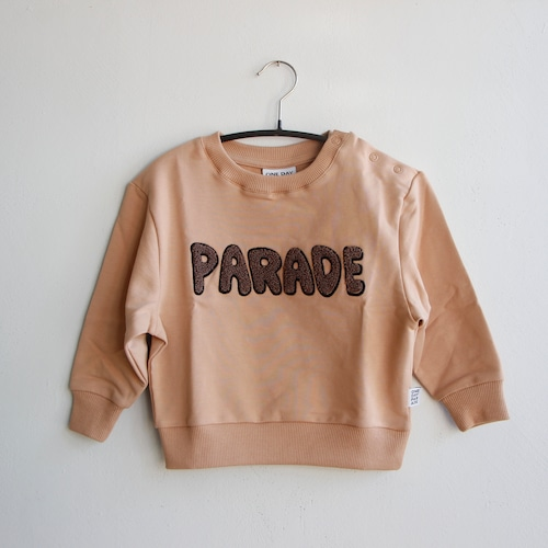 《ONE DAY PARADE 2021AW》SWEATER / BROWN PARADE