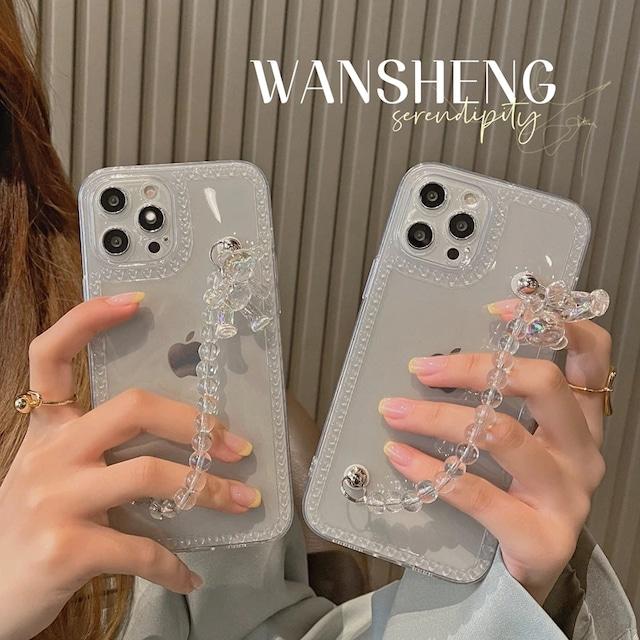 Pearl bear iphone case