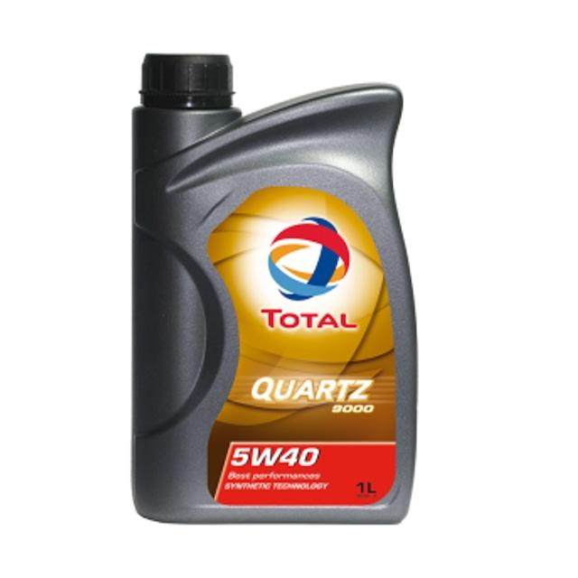 23398-1  TOTAL QUARTZ 9000 5W-40 (1 Litre)