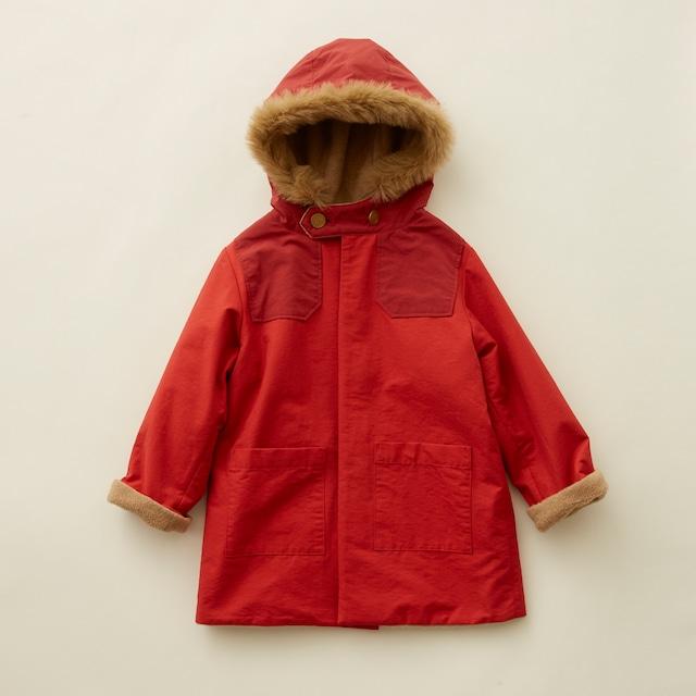 【21AW】eLfinFolk(エルフィンフォルク) high lander coat(110/120/130) コート アウトドア