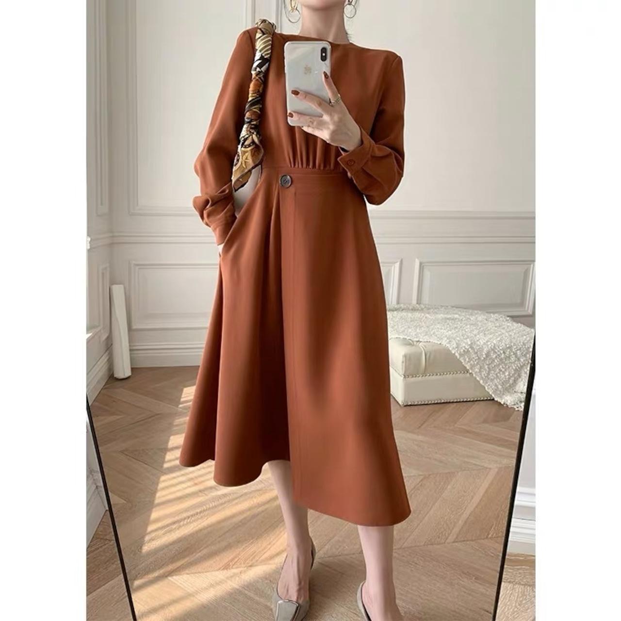 side design dress