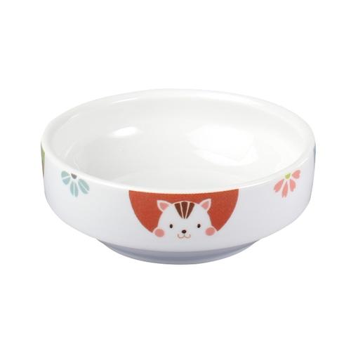 強化磁器 11.5cm すくいやすい食器 かくれんぼ【1712-1370】