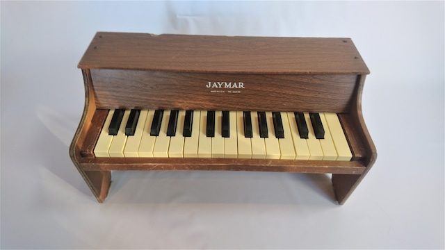 [vintage]jaymarトイピアノポータブル30鍵盤
