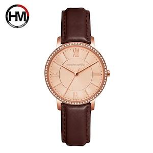 女性用時計ダイヤモンド日本製クォーツラインストーン腕時計高級カジュアル女性用ドレス時計RelogioFeminino Drop Shipping1072PZ2