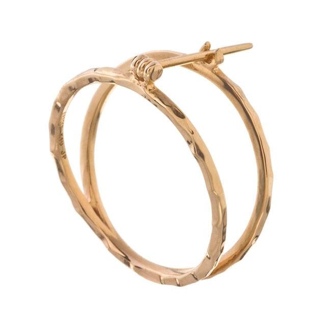 K10 Circle Earrings 10金サークルイヤリング(片耳用)ELE0004G