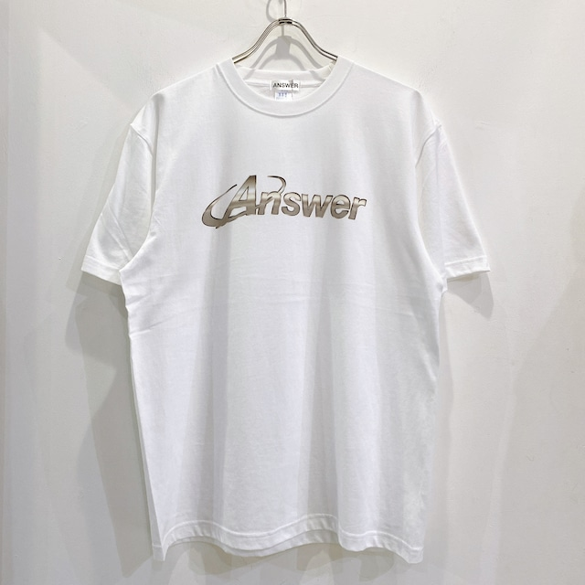 ANSWER COLLECTION / METALIC LOGO COLOR TEE