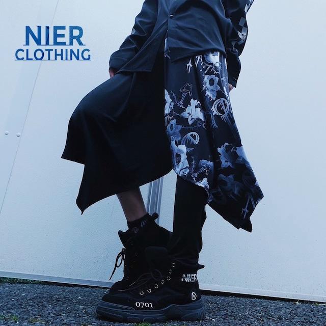 変則フラップスカート付きパンツ【NieR ROSE】