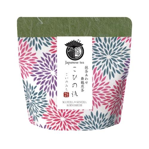 【いろどり】抹茶あわせ舞鶴上煎茶 こひの路(こいのみち)リーフ(茶葉)