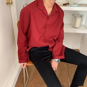 デイリーオープンカラーシャツ BL9151