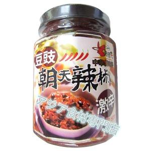 【常温便】老骡子朝天豆豉辣椒(トウチ入り激辛ラージャン)