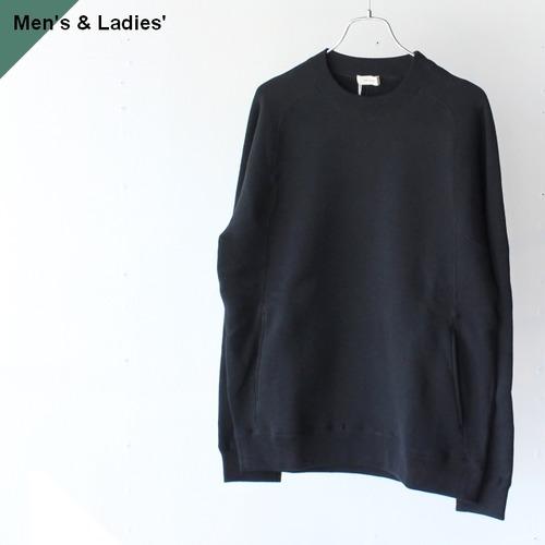 THE HINOKI ザヒノキ コットン裏起毛スウェットシャツ Black