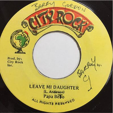 Papa Beeto(パパビート) - Leave Mi Daughter【7'】