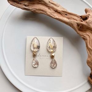 """"""" Earrings NO.danoan-128″ ワントーンレース"""