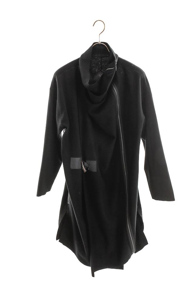 [着るアー ト][DFA AWARD]BLACK COAT/STOLE 【WOOLウール】301321[登録意匠]