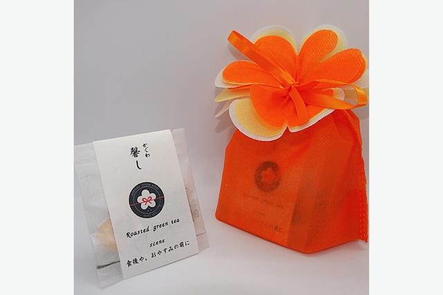 馨し(かぐわし)<8包入り> -ブレンド/青焙じ茶-